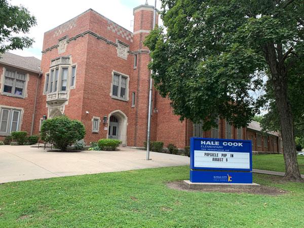 exterior of Hale Cook Elementary School